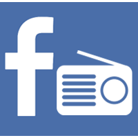 Facebook Radio Icon