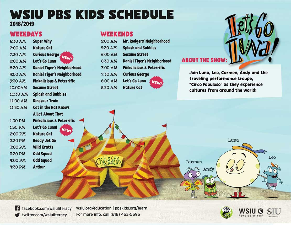 PBS Kids Schedule
