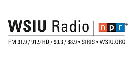 WSIU Radio with Stations Logo