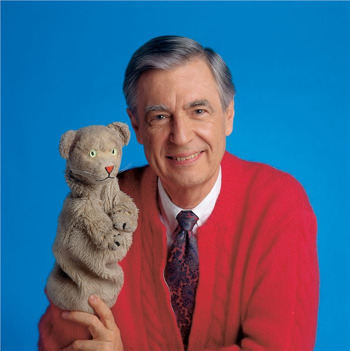 Fred Rogers and Daniel