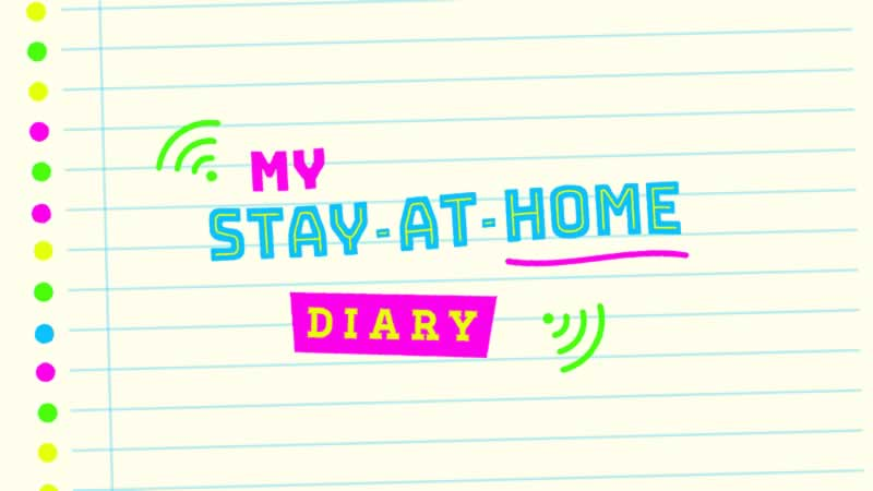 My Stay at Home Diary Logo