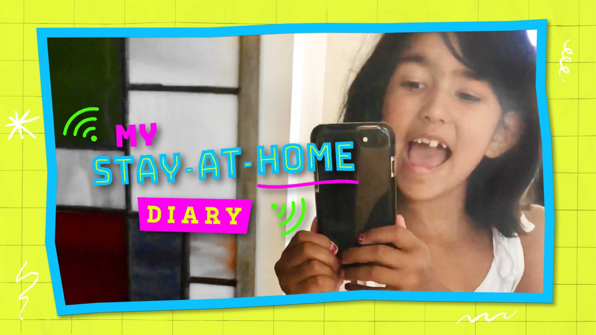 My Stay at Home Diary Promo